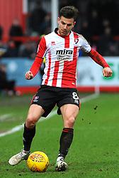 Kevin Dawson of Cheltenham Town in action- Mandatory by-line: Nizaam Jones/JMP- 27/01/2018 - FOOTBALL - LCI Rail Stadium- Cheltenham,England - Cheltenham Town v Barnet -Sky Bet League Two