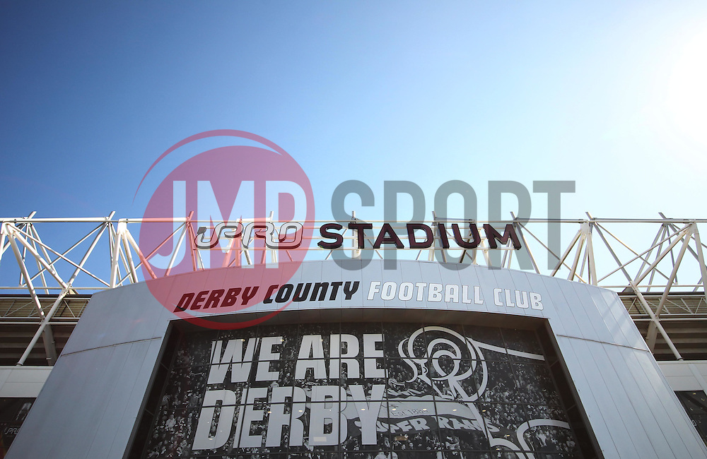 General view of the iPro Stadium before the match - Mandatory by-line: Jack Phillips/JMP - 23/04/2016 - FOOTBALL - iPro Stadium - Derby, England - Derby County v Sheffield Wednesday - Sky Bet Championship