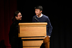 """Diane Quon and Bing Liu of the Oscar® nominated documentary feature """"Minding the Gap"""" during the Academy of Motion Picture Arts and Sciences' """"Oscar Week: Documentaries"""" event on Tuesday, February 19, 2019 at the Samuel Goldwyn Theater in Beverly Hills. The Oscars® will be presented on Sunday, February 24, 2019, at the Dolby Theatre® in Hollywood, CA and televised live by the ABC Television Network."""