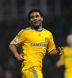 Florent Malouda (Chelsea) reacts during the Barclays Premier League match between Portsmouth and Chelsea at Fratton Park on March 3, 2009 in Portsmouth, England.