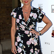 Denise van Outen attending the launch of Andrea McLean's new book Confessions of a Menopausal Woman at the Devonshire Club in London on June 26 2018..