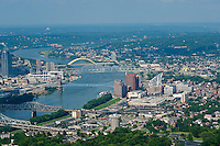Cincinnati Skyline and Ohio River