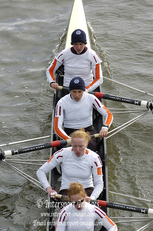2005 Women's Head of the River, Chiswick,London, ENGLAND;.Photo  Peter Spurrier. .email images@intersport-images.....[Mandatory Credit Peter Spurrier/ Intersport Images] Rowing Course: River Thames, Championship course, Putney to Mortlake 4.25 Miles
