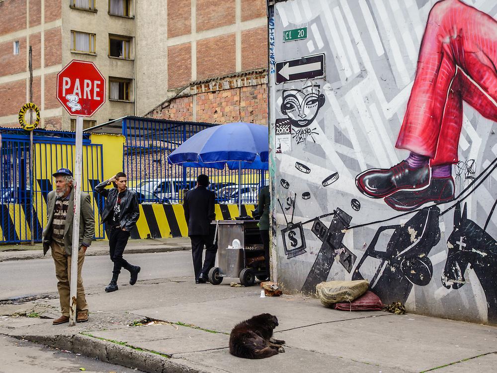 Street Photography Bogota Colombia