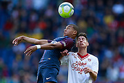 Paris Saint Germain's French forward Kylian Mbappe controls the ball during the French Championship Ligue 1 football match between Paris Saint-Germain and Girondins de Bordeaux on September 30, 2017 at the Parc des Princes stadium in Paris, France - Photo Benjamin Cremel / ProSportsImages / DPPI