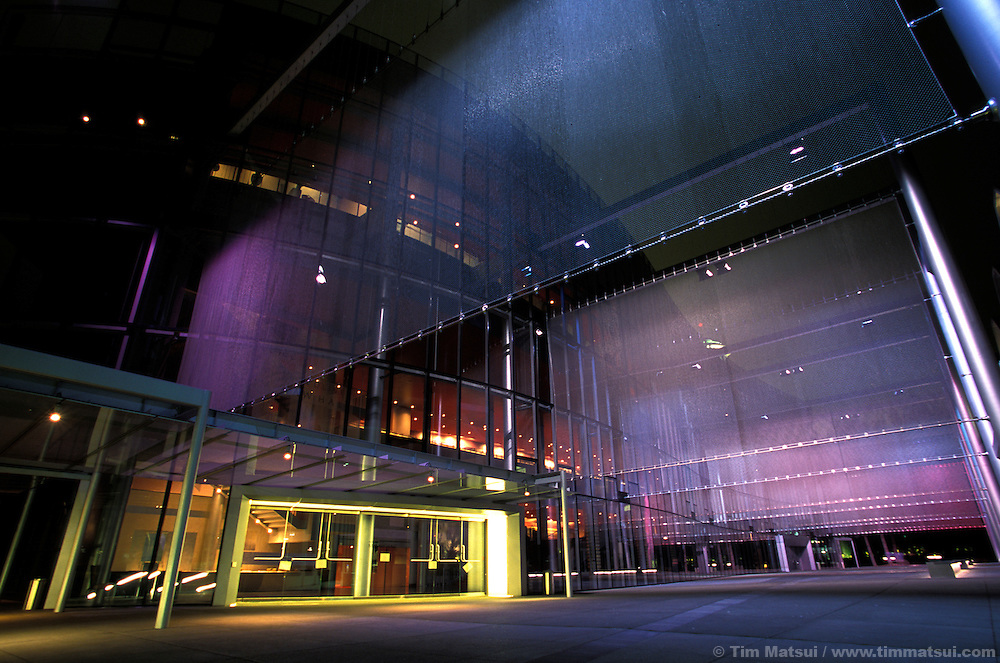 McCaw Hall, the new opera house at the Seattle Center.