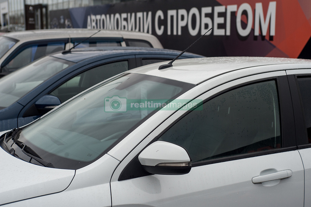 November 10, 2018 - Tambov, Tambov region, Russia - Sale of cars with run about motor show Lada in the city of Tambov  (Credit Image: © Demian Stringer/ZUMA Wire)