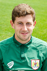 Frank Fielding poses for a head shot - Photo mandatory by-line: Rogan Thomson/JMP - 07966 386802 - 04/08/2014 - SPORT - FOOTBALL - BCFC Training Ground, Failand - Bristol City, 2014/15 Team Photos.