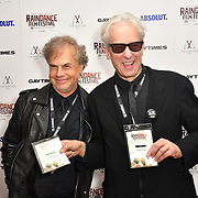 Lawrence David Foldes and Elliot Grove attends Raindance Film Festival Gay Times Gala screening - George Michael: Freedom (The Director's Cut) London, UK. 4th October 2018.