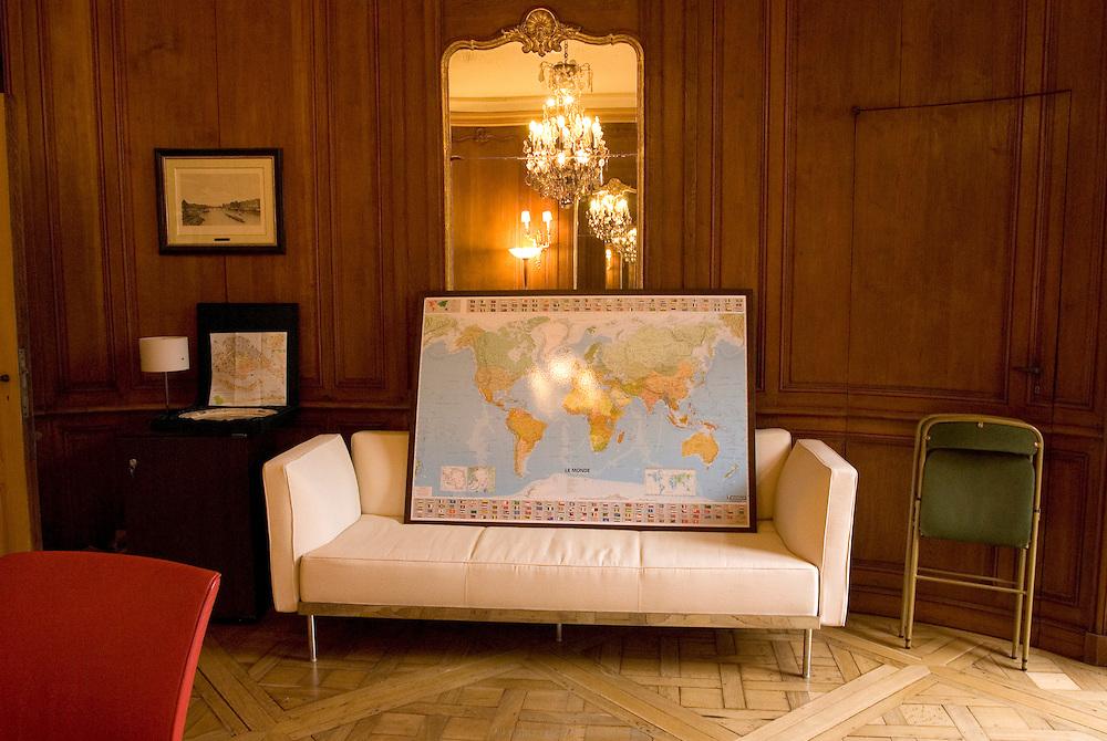 Bureau, Conseil Régional d'Ile de France.