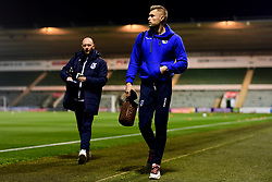 Anssi Jaakkola of Bristol Rovers arrives at Home Park prior to kick off - Mandatory by-line: Ryan Hiscott/JMP - 17/12/2019 - FOOTBALL - Home Park - Plymouth, England - Plymouth Argyle v Bristol Rovers - Emirates FA Cup second round replay