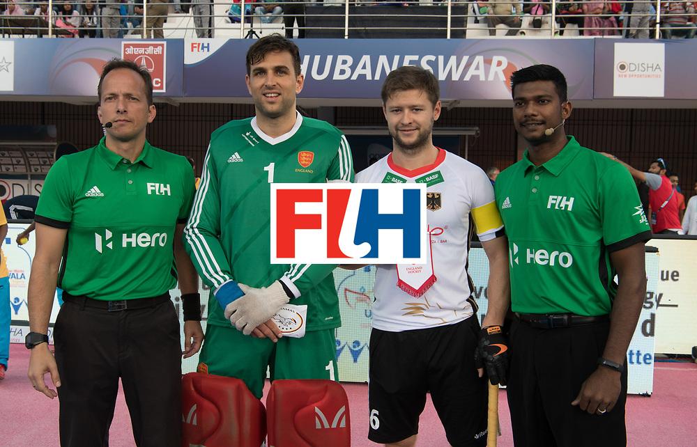Odisha Men's Hockey World League Final Bhubaneswar 2017<br /> Match id:01<br /> Germany v England<br /> Foto: Pinner and Martin Haener.<br /> WORLDSPORTPICS COPYRIGHT FRANK UIJLENBROEK