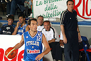 DESCRIZIONE : BORMIO TORNEO PREPARAZIONE EUROPEI 2005<br /> GIOCATORE : BULLERI - RECALCATI<br /> SQUADRA : ITALIA NAZIONALE<br /> EVENTO : TORNEO PREPARAZIONE EUROPEI 2005<br /> GARA : ITALIA-BULGARIA<br /> DATA : 11/08/2005<br /> CATEGORIA : Palleggio<br /> SPORT : Pallacanestro<br /> AUTORE : AGENZIA CIAMILLO &amp; CASTORIA/Stefano Ceretti