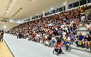 Tifosi, Pubblico, Spettatori,<br /> Banco di Sardegna Dinamo Sassari - Happycasa Brindisi<br /> Finale Torneo Città di Oristano Trofeo Città di Eleonora<br /> Oristano, 08/09/2019<br /> Foto L.Canu / Ciamillo-Castoria