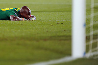 Fotball<br /> VM 2010<br /> Danmark v Kamerun<br /> 19.06.2010<br /> Foto: Witters/Digitalsport<br /> NORWAY ONLY<br /> <br /> Achille Emana (Kamerun)<br /> Fussball WM 2010 in Suedafrika, Vorrunde, Kamerun - Daenemark 1:2