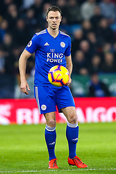 Jonny Evans of Leicester City - Mandatory by-line: Robbie Stephenson/JMP - 26/02/2019 - FOOTBALL - King Power Stadium - Leicester, England - Leicester City v Brighton and Hove Albion - Premier League