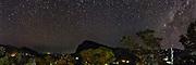 The Milky Way over Ella Sri Lanka