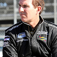 Nationwide driver Mike Bliss at Daytona International Speedway on February 18, 2011 in Daytona Beach, Florida. (AP Photo/Alex Menendez)