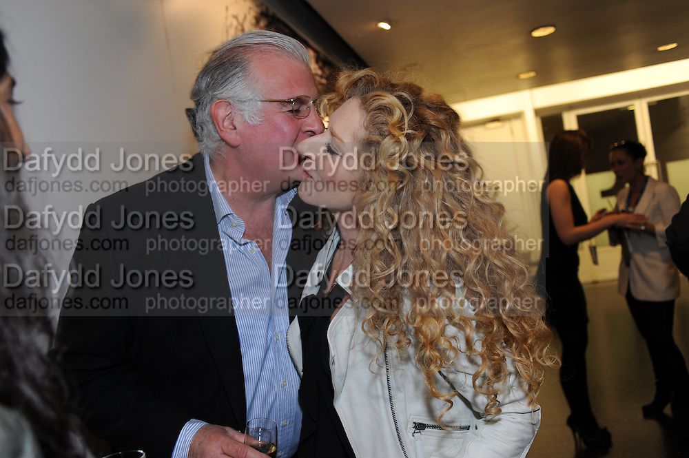 BRADLEY ADAMS; KELLY HOPPEN, Vanity Fair  hosted  UK Premiere and party for Beyond Time. A film about the artist William Turnbull made by his son Alex Turnbull. Narrated by Jude Law. I.C.A. London. 17 November 2011<br /> <br />  , -DO NOT ARCHIVE-© Copyright Photograph by Dafydd Jones. 248 Clapham Rd. London SW9 0PZ. Tel 0207 820 0771. www.dafjones.com.
