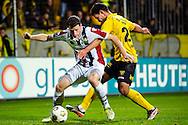 Onderwerp/Subject: VVV Venlo - Willem II - Eredivisie<br /> Reklame:  <br /> Club/Team/Country: <br /> Seizoen/Season: 2012/2013<br /> FOTO/PHOTO: Guus JOPPEN (R) of VVV Venlo in duel with Marc HOCHER (L) of Willem II. (Photo by PICS UNITED)<br /> <br /> Trefwoorden/Keywords: <br /> #04 $94 ±1342772867474<br /> Photo- & Copyrights © PICS UNITED <br /> P.O. Box 7164 - 5605 BE  EINDHOVEN (THE NETHERLANDS) <br /> Phone +31 (0)40 296 28 00 <br /> Fax +31 (0) 40 248 47 43 <br /> http://www.pics-united.com <br /> e-mail : sales@pics-united.com (If you would like to raise any issues regarding any aspects of products / service of PICS UNITED) or <br /> e-mail : sales@pics-united.com   <br /> <br /> ATTENTIE: <br /> Publicatie ook bij aanbieding door derden is slechts toegestaan na verkregen toestemming van Pics United. <br /> VOLLEDIGE NAAMSVERMELDING IS VERPLICHT! (© PICS UNITED/Naam Fotograaf, zie veld 4 van de bestandsinfo 'credits') <br /> ATTENTION:  <br /> © Pics United. Reproduction/publication of this photo by any parties is only permitted after authorisation is sought and obtained from  PICS UNITED- THE NETHERLANDS