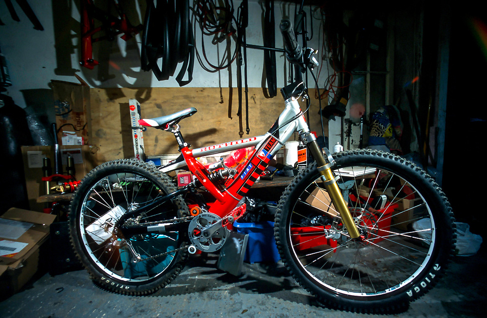 Rotwild Team full suspension bike.
