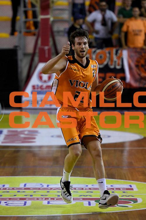 Roberto Marulli<br /> Viola Reggio Calabria - Angelico Biella<br /> Campionato Basket LNP 2016/2017<br /> Reggio Calabria 09/10/2016<br /> Foto Ciamillo-Castoria