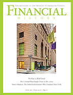 Cover of Financial History magazine, published by the Museum of American Finance.