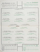 All Ireland Senior Hurling Championship Final, held at Croke Park, Dublin, Ireland. Brochures,.01.09.1940, 09.01.1940, 1st September 1940, .Kilkenny 1-7, Limerick 3-7, .Minor Limerick v Antrim,.Senior Kilkenny v Limerick, .Croke Park, 0191940AISHCF,..Kilkenny Senior Team, J O'Connell, Goalkeeper, P Grace, Right corner-back, P Larkin, Full-back, P Blanchfield, Left corner-back, R Hincks, Right half-back, W Burke, Centre-back, P Phelan, Left half-back, J Walsh, Midfielder, J Kelly, Midfielder, J Langton, Captain, Right half-forward, T Leahy, Centre half-forward, J Gargan, Left half-forward, J Mulcahy, Right corner-forward, J O'Brien, Centre froward, Jas Phelan Left corner-forward, Substitutes, P Boyle, P Donovan, J O'Neill, M Tyrell, R Teehan, R Aylward, ..Limerick Senior Team, P Scanlan, Goalkeeper, J McCarthy, Right corner-back, M Hickey, Full-back, M Kennedy, Left corner-back, T Cooke, Right half-back, P Clohessy, Centre half-back, P Cregan, Left half-back, T Ryan, Midfielder, J Roche, Midfielder, J Mackey, Right half-forward, M Mackey, Captain, Centre half-forward, R Stokes, Left half-forward, E Chawke, Right corner-forward, P McMahon, Centre forward, J Power, Left corner-forward, Substitutes, M McCarthy, T Herbert, P Mackey, D Givens, D Hurley, P Kelly,