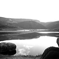 Lake Fundudzi, the sacred lake of the Venda people, Venda Homeland, 1988/9. Photo Greg Marinovich