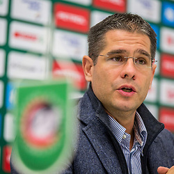 20181123: SLO, Basketball - Press conference with new coach of KK Petrol Olimpija Ljubljana