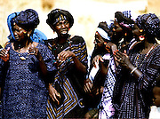 Girls at an event - Podor Senegal