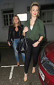 Exclusive - Megan Rees out for dinner with love cosh Nadia essex