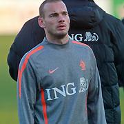NLD/Katwijk/20110321 - Training Nederlandse Elftal Hongarije - NLD, Wesley Sneijder