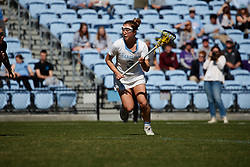 CHAPEL HILL, NC - MARCH 02: Jamie Ortega #3 of the North Carolina Tar Heels during a game against the Northwestern Wildcats on March 02, 2019 at the UNC Lacrosse and Soccer Stadium in Chapel Hill, North Carolina. North Carolina won 11-21. (Photo by Peyton Williams/US Lacrosse)