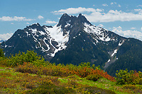 Mount Sefrit seen from Goat Mountain, North Cascades Washington