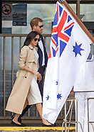 Meghan Markle & Prince Harry Take Water Transfer