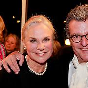 NLD/Den Haag/20110406 - Premiere Alle Tijden, Monique van der Ven en partner Edwin de Vries