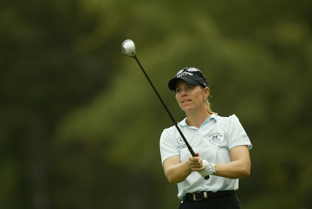 Annika Sorenstam.2003 Samsung World Championship.1st-2nd Rounds.TPC at the Woodlands.The Woodlands, TX.Friday, October 10 2003..photograph by Darren Carroll