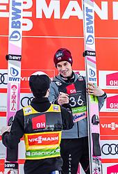22.03.2019, Planica, Ratece, SLO, FIS Weltcup Ski Sprung, Skiflug, Einzelbewerb, Wertungssprung, Finale, im Bild 2. Platz Ryoyu Kobayashi (JPN), 3. Platz Piotr Zyla (POL) // 2nd placed Ryoyu Kobayashi of Japan 3rd placed Piotr Zyla of Poland during his competition jump of the Ski Flying Hill individual competition of the FIS Ski Jumping World Cup Final 2019. Planica in Ratece, Slovenia on 2019/03/22. EXPA Pictures © 2019, PhotoCredit: EXPA/ JFK