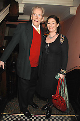 PETER O'TOOLE and his daughter KATE O'TOOLE at the 2008 Oldie of The year Awards and lunch held at Simpsons in The Strand, London on 11th March 2008.<br />