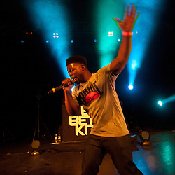 London,UK - 20 April 2013: Tempa T performs live during the Boy Better Know gig at The Forum in London
