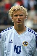 16.08.2003, T??l? Stadium, Helsinki, Finland.FIFA U-17 World Championship - Finland 2003.Match 12: Group A - Finland v Mexico.Jussi-Pekka Savolainen - Finland.©Juha Tamminen