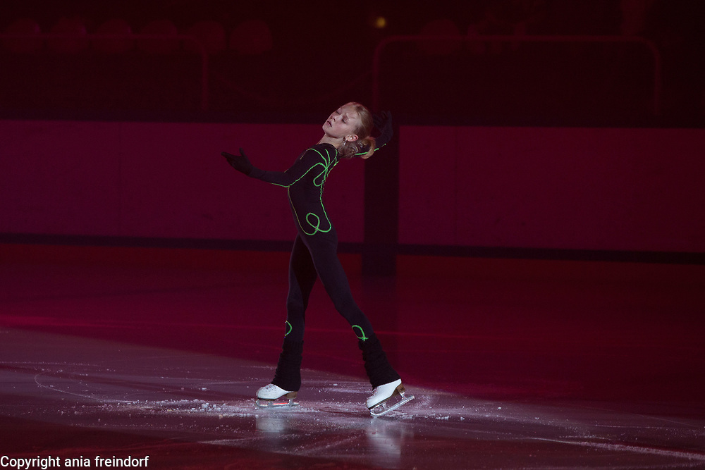 International Ice Skating Gala, Courchevel, France, 20 July 2017, Taisiya Buzmakova, Member of the Russian national team