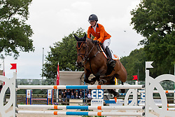 Schuttelaar Beau, NED, Illinios Z<br /> European Jumping Championship Children<br /> Zuidwolde 2019<br /> © Hippo Foto - Dirk Caremans<br /> Schuttelaar Beau, NED, Illinios Z