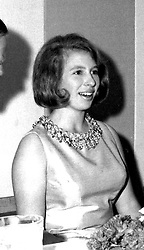 PRINCESS ANNE at a ball in August 1967.  EXA 32