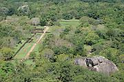 The gardens at Sigiriya.