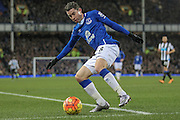 Bryan Oviedo (Everton) during the Barclays Premier League match between Everton and Newcastle United at Goodison Park, Liverpool, England on 3 February 2016. Photo by Mark P Doherty.