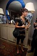 OONA CHAPLIN ,  'Cries from the Heart' presented by Human Rights Watch at the Theatre Royal Haymarket. London. Party afterwards at the Haymarket Hotel. June 8, 2008 *** Local Caption *** -DO NOT ARCHIVE-© Copyright Photograph by Dafydd Jones. 248 Clapham Rd. London SW9 0PZ. Tel 0207 820 0771. www.dafjones.com.