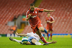 LIVERPOOL, ENGLAND - Wednesday, May 7, 2008: Liverpool's Nabil El Zhar in action against Aston Villa during the play-off final of the FA Premier League Reserve League at Anfield. (Photo by David Tickle/Propaganda)