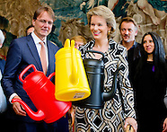 Queen Mathilde at 'The Power of Object' Exhibition